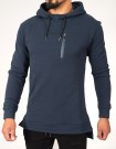 Prussian Blue Alpha Physique Fishtail hoodie thumbnail